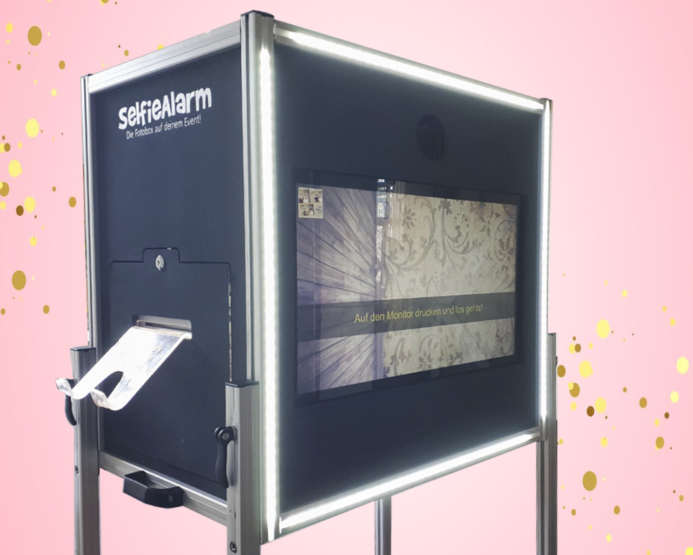 SelfieAlarm Fotobox Tower Photobooth